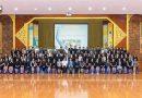 """ภาพบรรยากาศการอบรม : ชมถ่ายทอดสดการสอน หลักสูตร """"Teaching English to Young Learners"""" วันที่ 16 มิถุนายน 2562 ณ ห้องประชุมวัชร-นารี โรงเรียนกำแพงเพชรพิทยาคม จ.กำแพงเพชร"""